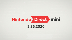 Nintendo Direct Mini presentation 26 mars 2020