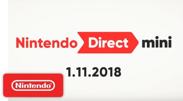 Nintendo Direct Mini 11 januari 2018