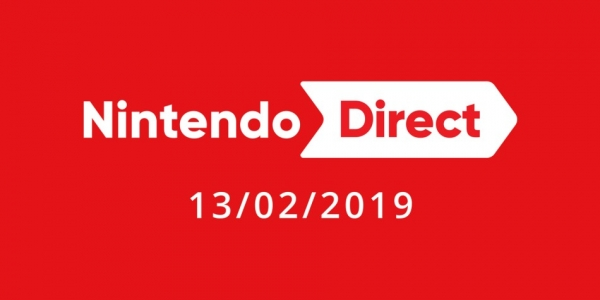Nintendo Direct presentation 13 februari 2019