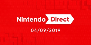 Nintendo Direct presentation 4/5 september 2019