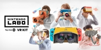 VR kommer till Nintendo Switch i april