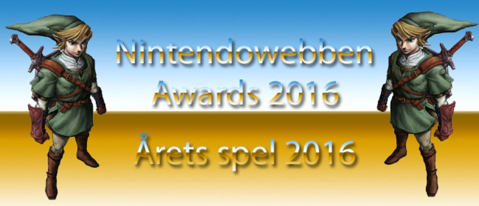 Resultat: Nintendowebben Awards 2016