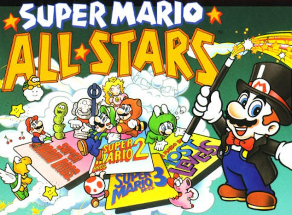 Super Mario All Stars fyller 27 år